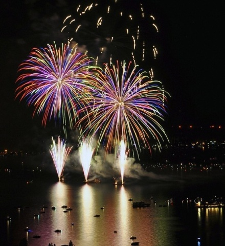 tahoe fireworks