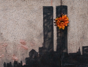 Banksy - Twin Towers